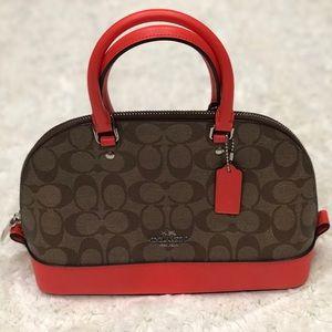 Coach Mini Sierra Satchel Handbag (New)